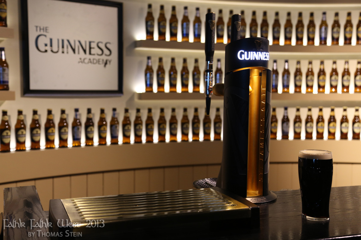 Zapfanlage @ Guinness Storehouse